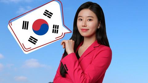 Korean vocabulary, grammar, speaking package for Beginner 1A