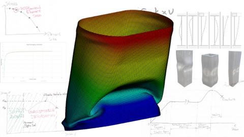 Ansys ile Linear ve Nonlinear Buckling Uygulamaları