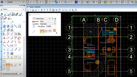 Microstation - Learn CAD design from cero with