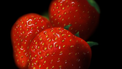 Procreate Tutorial- realistic fruit (digital ipad drawing)!