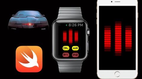 Build Knight Rider's KITT Voicebox Apple Watch & iPhone apps