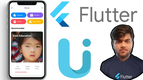 Donation App UI from Scratch with Flutter