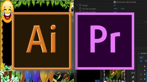 Ilustrador e Design gráfico - COMBO Premiere + Illustrator