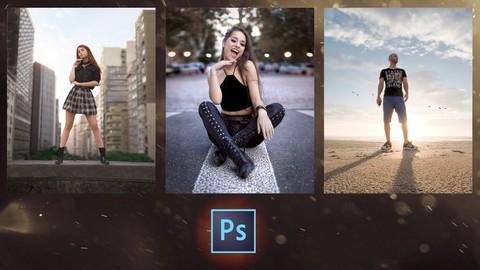 Fotografia Profissional no Photoshop | Composição e edição