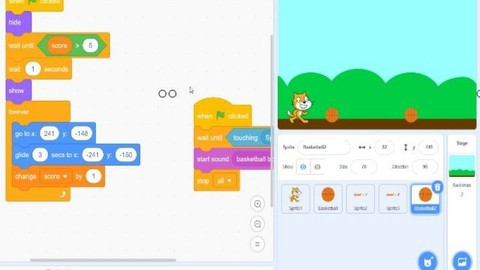 SCRATCH Block Based Programming for Kids or Beginners