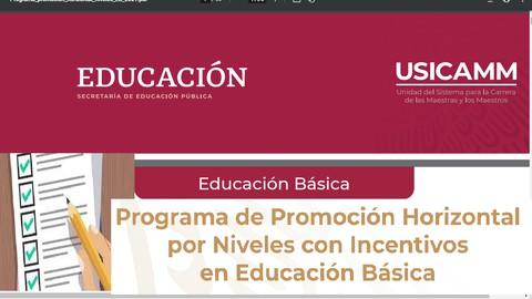 Examen de Prueba Programa de Promoción Horizontal 2021