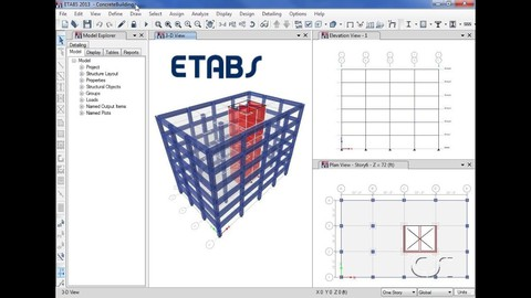 ETABS: Essential Course (Introductory level)