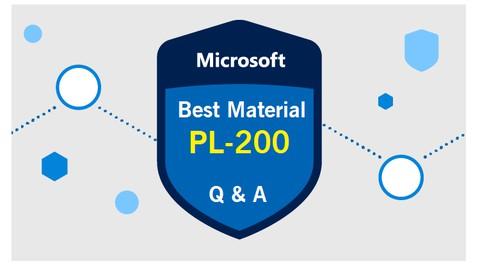 Latest PL-200 Exam Preparation Practice Question