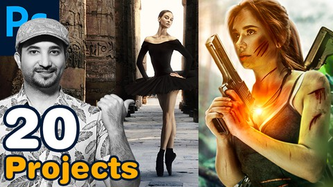 Photoshop Masterclass - 20 Compositing Projects