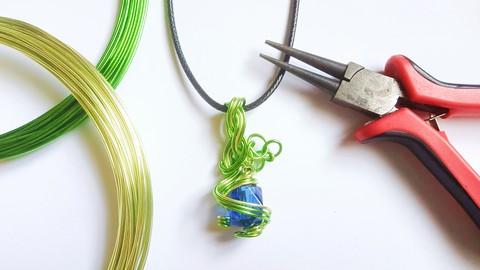 鋁線編織飾品教學