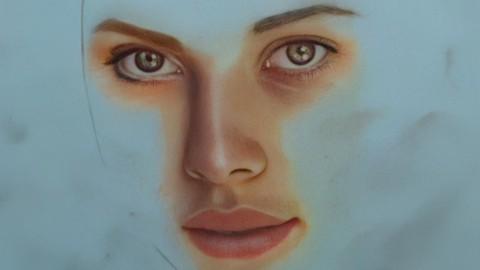 Soft Pastel Resim Kursu,Portre Çizimi