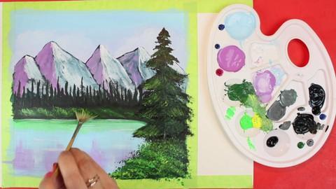 Curso de Pintura Acrílica - Paso a paso