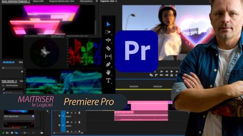 Maitriser le logiciel Premiere Pro et le montage vidéo