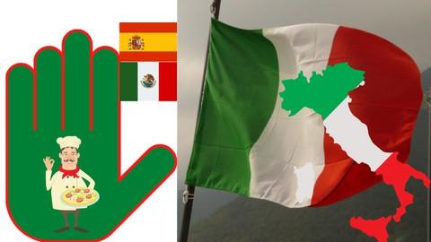 Italiano en 5 palabras - Curso 1 en español
