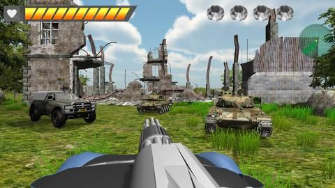 Unity 遊戲設計 [ 3D 坦克奪寶大戰 PC Game ]