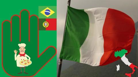 Italiano em 5 palavras - Curso 1 em português