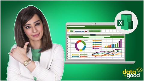 Excel Data Analysis Masterclass with Excel Dashboards