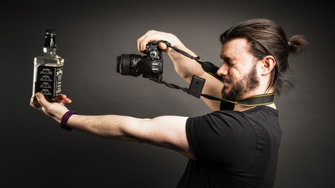 5 different ways to shoot and light a bottle (or product)