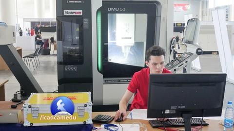 Mecaniza tu primer pieza con Mastercam