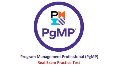 Program Management Professional PgMP® REAL PRACTICE Exam !!