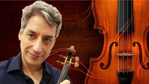 Curso de violino: Método Dounis nas 4 Estações de Vivaldi