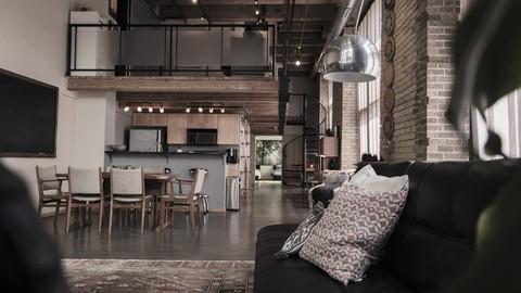 Experto en Diseño de Loft. De Industrial a Doméstico.