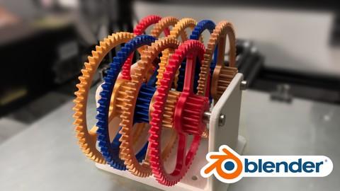 Design For 3D Printing | Blender Masterclass