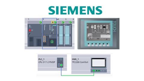 Learn Siemens S7-300 PLC & WinCC HMI or SCADA in TIA Portal