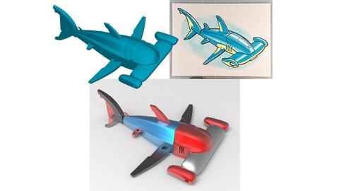 रोबोटिक अंतरिक्ष यान 3D मॉडलिंग - भाग 1