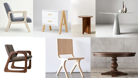Furniture Design with 3ds Max