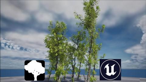 Unreal Engine & SpeedTree Growth Animation