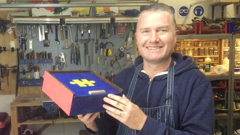 Woodworking: Make A Beautiful Wooden Box With A Sliding Lid