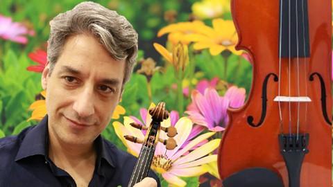 Curso de violino: Método Dounis Primavera de Vivaldi
