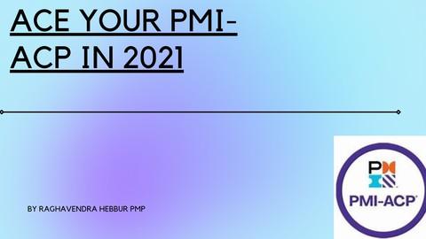 2021 PMI-ACP Practice Simulator based on current exam PMI