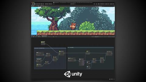 Unity官方认证中文教程   Unity2021.x全新Visual Scripting可视化编程   游戏开发