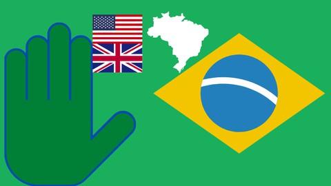 Effortless Brazilian Portuguese - Course 1 in English