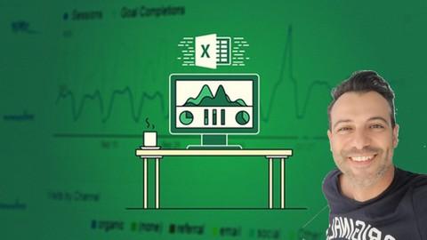 Excel Power Query, Power Pivot, Power Map & DAX Masterclass