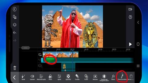Edición de video con celular PowerDirector basico