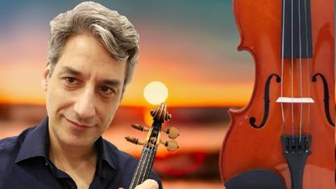 Curso de violino: Método Dounis Verão de Vivaldi