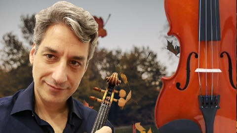 Curso de violino: Método Dounis Outono de Vivaldi