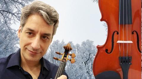 Curso de violino: Método Dounis Inverno de Vivaldi