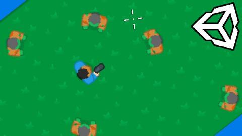 Crie um Jogo Top-Down Shooter 2D na Unity 2021 e C#!