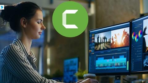 2021 Camtasia Studio Video Editing -Beginner to Intermediate