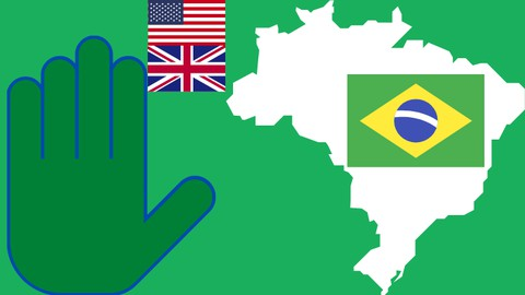 5-word Brazilian Portuguese - Course 2 for English speakers