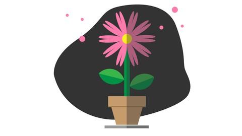 Creating Lush Pot Flower Illustration in Adobe Illustrator