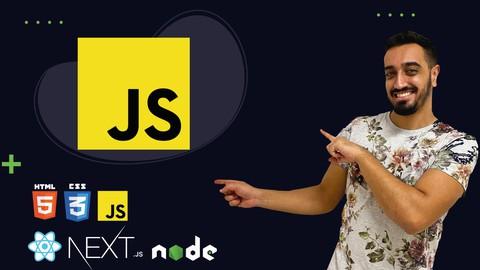 Javascript do básico ao avançado (c/ Node, React, Next)