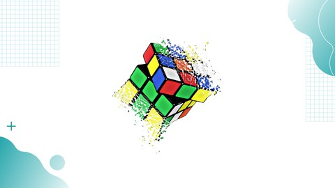 How to Solve 3x3 Rubik's Cube from Start to Finish in 1 min!
