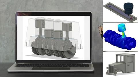 Fusion 360 Schritt für Schritt | CAD, FEM & CAM für Anfänger