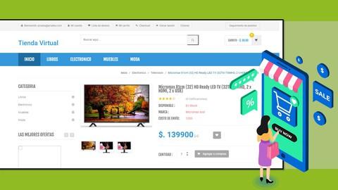 Sistema Tienda Virtual E-Commerce - PHP, MySQL , JS, AJAX