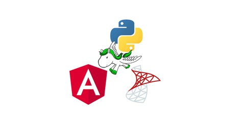 Angular 12, Python Django & Microsoft SQL full-stack app